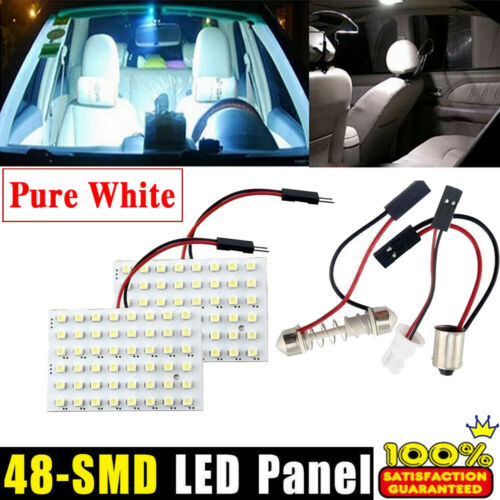 T10 BA9S T4W 194 168 W5W Car Interior Panel Dome Light Room White Lamp Bulb 12V