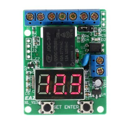 12v Dc Charging Discharge Voltage Monitor Test Relay Switch Control Board Module