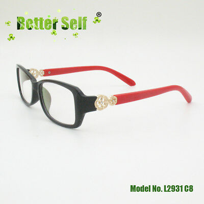 Better Self Rectangle Optic Woman Glasses Frame Butterfly Glasses PC