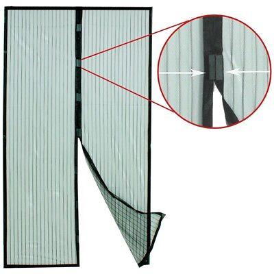 Fliegengitter Insektenschutz Magnet Mückenschutz Moskitonetz für Tür100 X 210cm