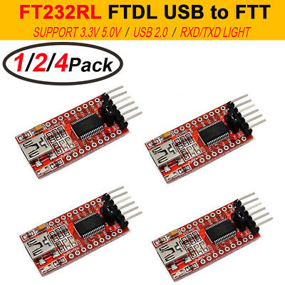Mini Port Ft232rl Ftdi Usb To Ttl Serial Adapter Converter Module 3.35.5v