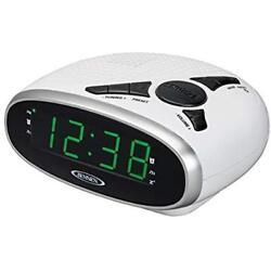 Digital Radio AM FM Clock Dual Alarm LED Display Sleep, Snooze, AUX,Input Jack