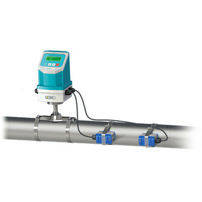 Waterproof Ultrasonic Liquid Flowmeter Flowmeter Dn50-700mm Clamp On Sensor