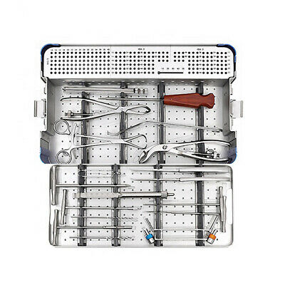 New German Small Fragment Instruments Orthopedic Medical Surgical Set With Box