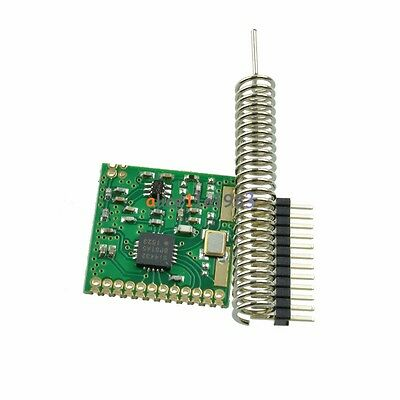433Mhz SI4432 FIFO 64 Bytes Wireless RF Communication Module with Antenna 1000m