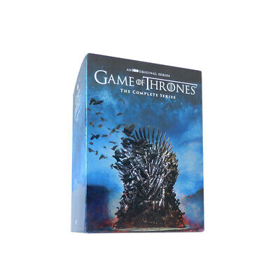 Game of Thrones: The Complete Series Season 1-8 (DVD,38-Disc Box Set) New
