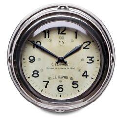 Pendulux Aluminum Deckhand Wall Clock