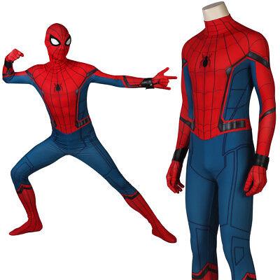 Spider-Man Homecoming Spider man Costume Superhero Suit Tights Suit Halloween - Spider Man Halloween