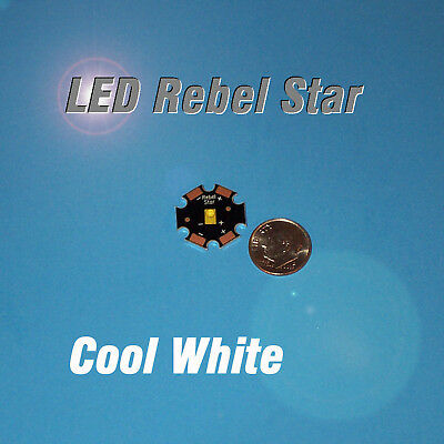 Led Star - Luxeon Rebel Cool White - Mcpcb - 5090 Lm