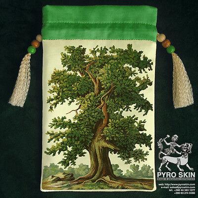 """Silk Tarot bag """"Magical Oak Tree"""""""
