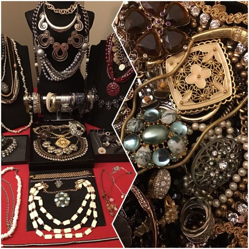 Huge Vintage To Now Jewelry Lot Wearable Estate 5.1 Lbs