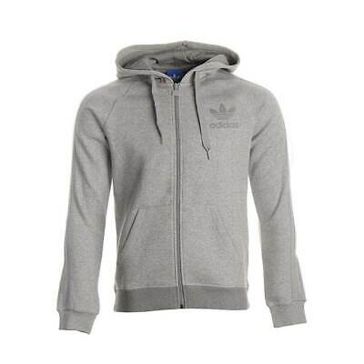 Adidas Originals Men`s Trefoil SPO Full Zip Tracksuit Hoodie