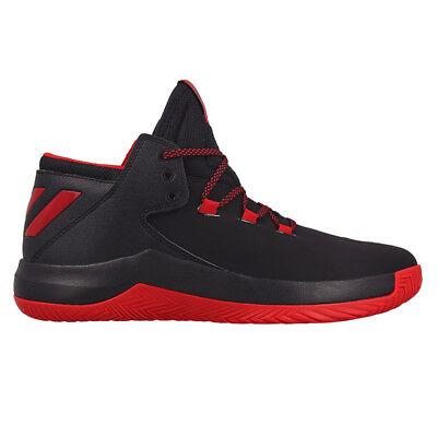adidas Derrick D Rose Menace 2 Schwarz Basketballschuhe Herren Schuhe NEU BB8201 ()