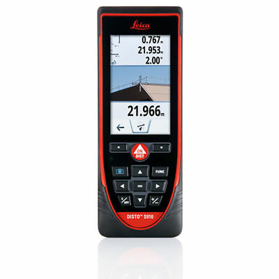 Leica Disto S910 Laser Distance Meter Point To Point Measuring 300 M