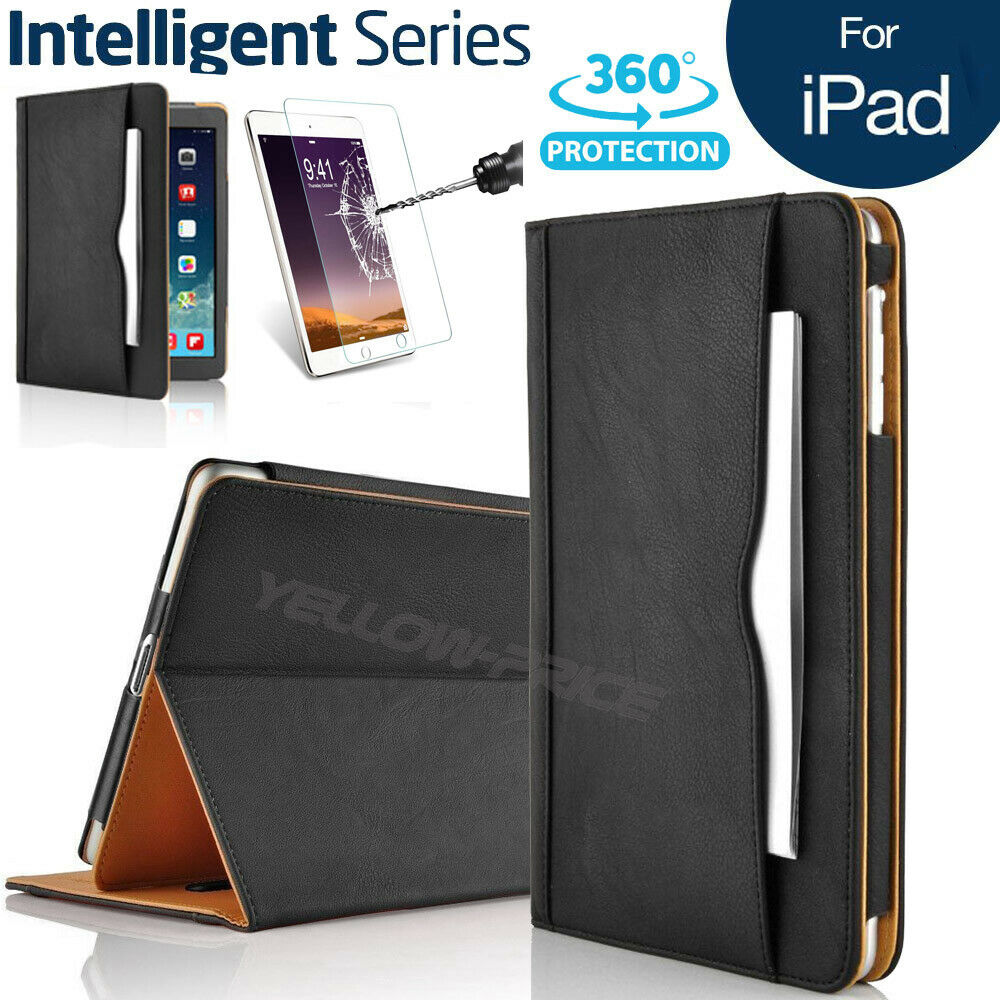apple ipad air soft leather wallet smart