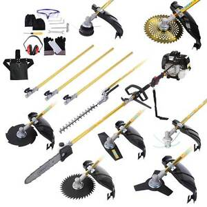NEW FREE SHIPPING - 65cc 9 In 1 Petrol Pole Chainsaw Hedge Trimm Silverwater Auburn Area Preview
