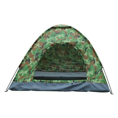 3-4 Person Outdoor Camping Waterproof Family Tent 4 Season Hiking Folding Camo