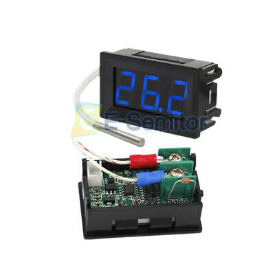Digital Blue Led Display B310 Thermometer Temperature Meter K-type Thermocouple