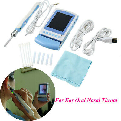 3inch Lcd Ear Nose Scope Oral Throat Cavity Otoscope Tv Video Inspection Camera