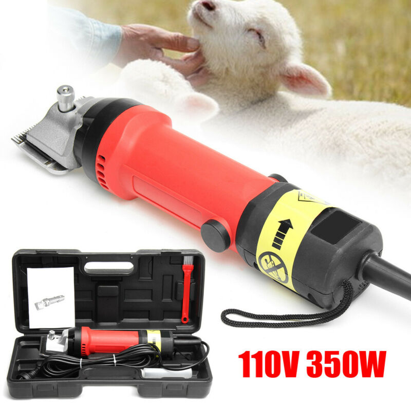 Heavy Duty Horse Clipper Pet Dog Grooming Clippers Hair Trimmer Shaver 6-Speed