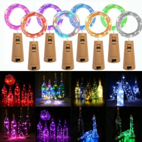 10 20 LED Fairy String Christmas Tree Party Lights Lamp Xmas