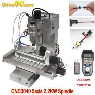 Mini Cnc Router 3040 5axis Engraving Carving Machine Cnc Metal Milling Machine