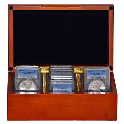 Click now to see the BUY IT NOW Price! COMPLETE PCGS PR70 SILVER EAGLE SET PCGS 1986 2016