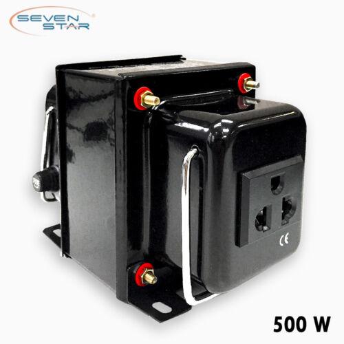 SevenStar THG-500 Watt 220V to 110V Step-Down Voltage Converter Transformer