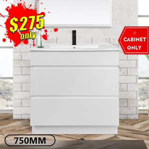 *SALES* Bathroom Vanity 700mm Drawer Cabinet 2Pack Freestanding Mia