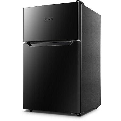 Hisense 3.2 Cu. Ft. Compact Top Mount Refrigerator Fridge - (Black Fridge Top Mount)