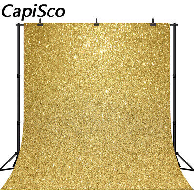 Gold Glitter Birthday Party Photo Backgrounds Baby Shower Photography Backdrops](Party Photo Backdrops)