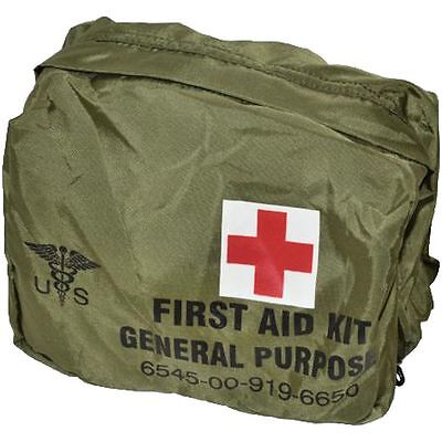 Orig.US Armee First Aid Kit Bag General Purpose Aeronautical & Special Force NEU