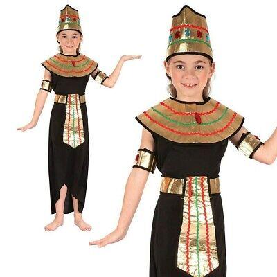 Kleopatra Königin des Nils Kostüm Mädchen Ägyptische Göttin Buch Woche Tag - Nil Ägyptische Göttin Kostüm