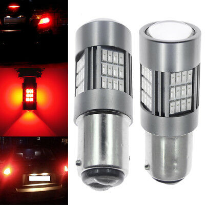 2Pack 1157 BAY15D 54 LED Brake Stop Tail Light Bulb Lamp 1016 Plug and Play NEW