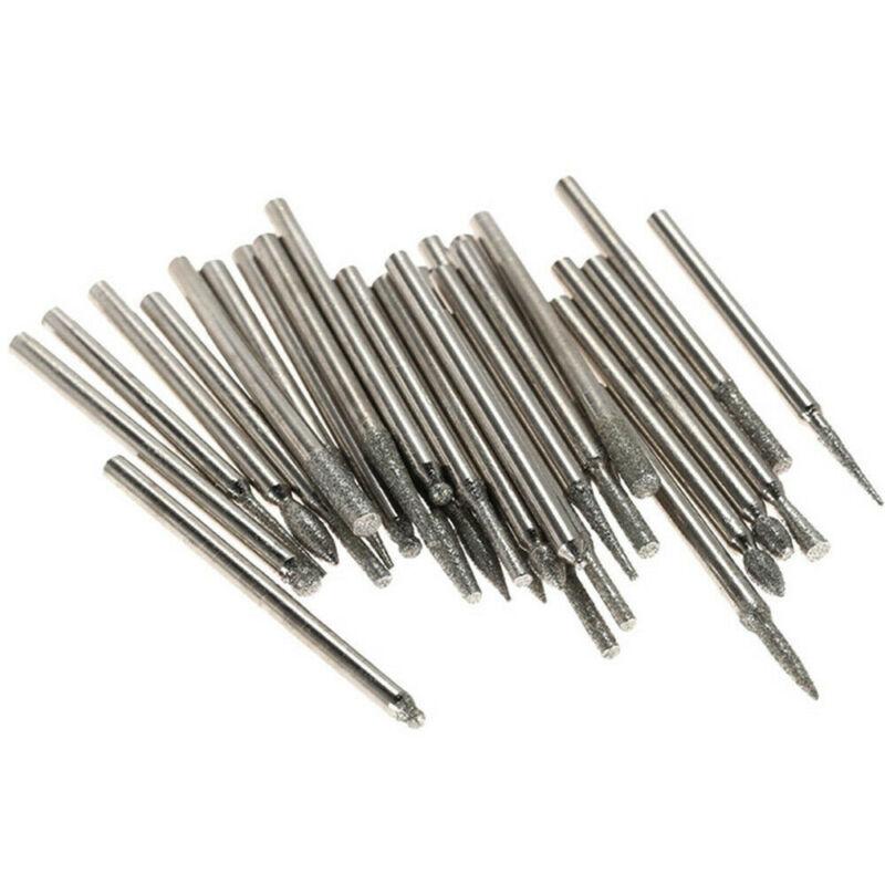 90Pcs Diamond Burr Drill Kit US