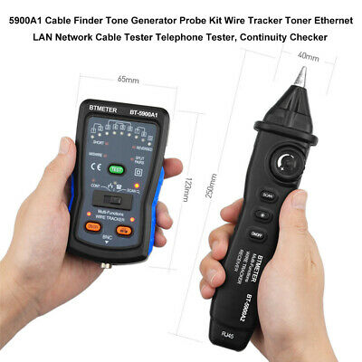 Cable-tester Tone-generator Wire-tracker Ethernet Lan Toner Network Cable Tester