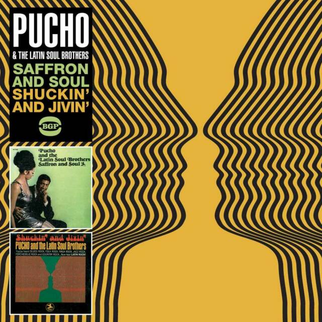 Pucho & The Latin Soul Brothers - Saffron And Soul / Shuckin' And Jivin' (CDBGPD