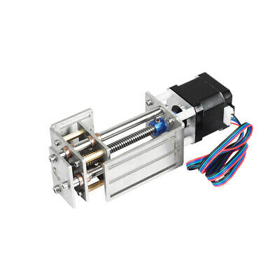 60mm 3 Axis Engraving Machine Diy Milling Linear Motion Cnc Z Axis Slide Table