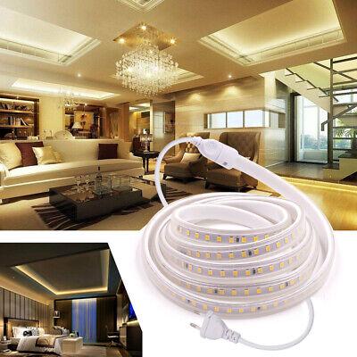 220V 230V 2835 Flexible LED-Streifen Wasserdichte Innen- Außenleuchte Band Licht Flexibles Licht