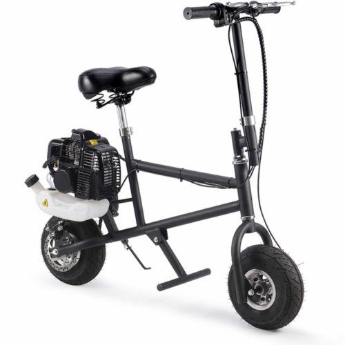 SAY YEAH 49cc Gas Mini Bike Black Adult 2 Stroke Bicycle Power Petrol Bike