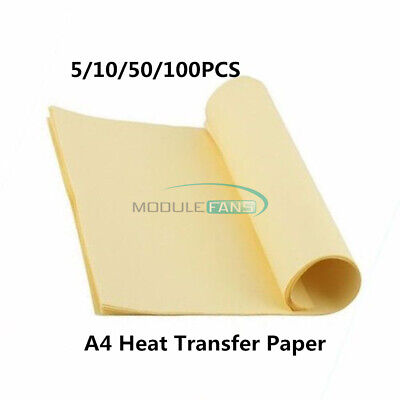 51050100pcs A4 Heat Toner Transfer Thermal Paper For Prototype Board Pcb