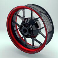 Adesivo Cerchio Adesivo Per Pneumatici Moto Wheelstickerwidestripes -  - ebay.it