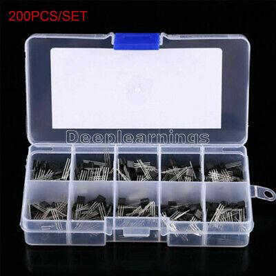 Top 10 Values X20 200pcs Npn Pnp Power Transistor Assortment Kit Box Bc337 New
