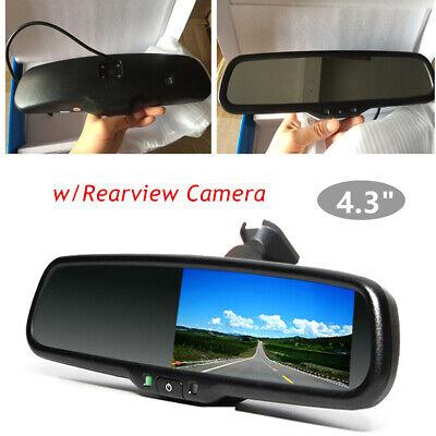 Smart Car Review (Sensor Car Rear View Monitor Parking Review Camera Support Night Vision)