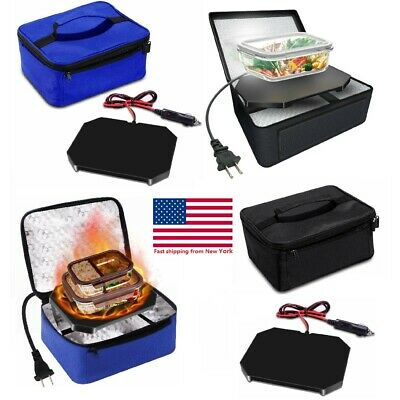 Portable Insulated Food Warmers Electric Lunch Bag Cabinet Buffet Set for Car](Food Warmers Buffet)
