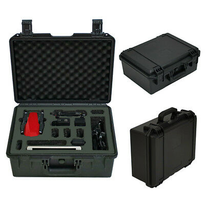 Military Spec Waterproof Hard Carrying Case for DJI Mavic Air Drone w/iPad Mini