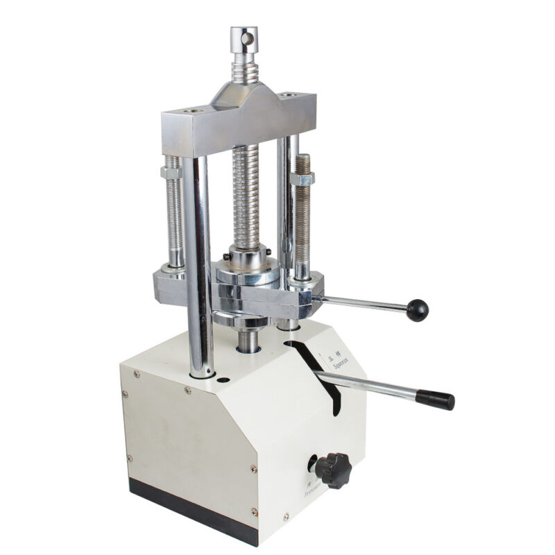 Best Portable Dental Laboratory Hydraulic Press Flask Lab Presser Pressure 80mm