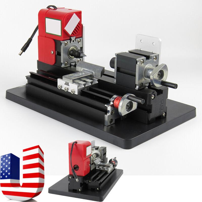 2019 NEW Metal Wood Working Lathe Motorized Machine DIY Tool Metal Woodworking