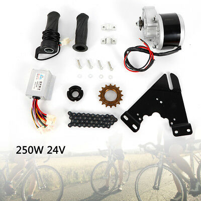 ELECTRIC BICYCLE MOTOR KIT 24V 250W E-BIKE CONVERSION KIT SIMPLE DIY E BIKE