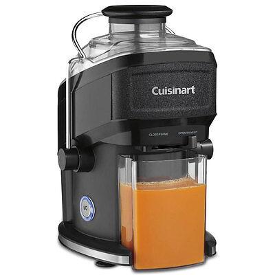Cuisinart CJE-500 16 Oz. Compact Juice Extractor, Black Wrinkle